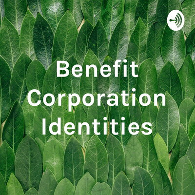 Benefit Corporation Identity Formation and Organizational Identity