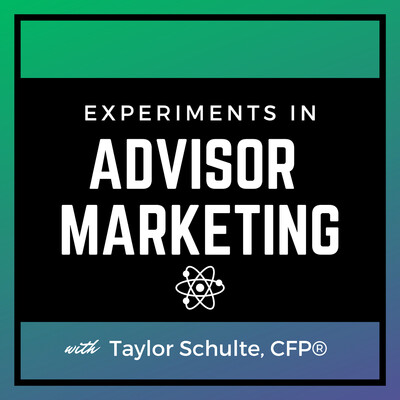 Experiments in Advisor Marketing