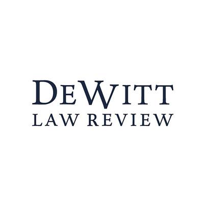 DeWitt Law Review