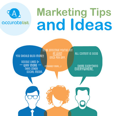 Marketing Tips from Accurate List Inc.