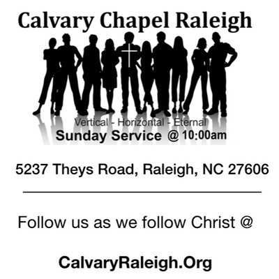Calvary Chapel Raleigh Podcast