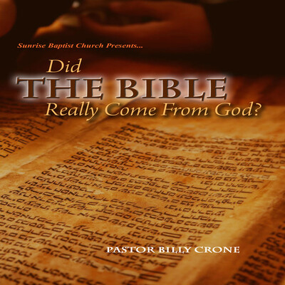 Did The Bible Really Come From God - Audio