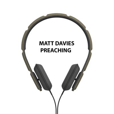 Matt Davies Preaching