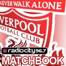 Liverpool FC Matchbooks