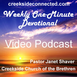 Weekly One-Minute Devotional