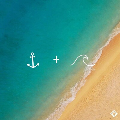 Anchor + Waves