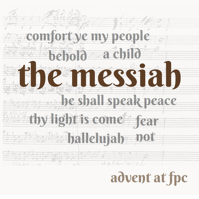 Messiah: Our 2016 Advent Podcast