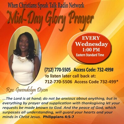 Mid-Day Glory Prayer with Rev. Dixon
