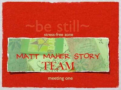 GOT SKILLZ!: Matt Maher Story TEAM