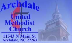 Archdale United Methodist Church Sermons