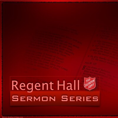 Regent Hall Sermons: Espresso Yourself