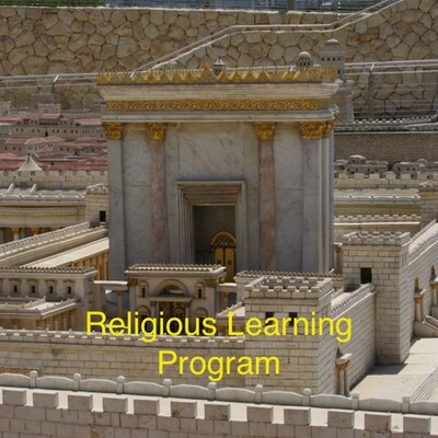 Religious Learning Program