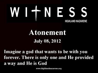 Attonement
