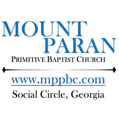 Mount Paran Primitive Baptist Church www.mppbc.com