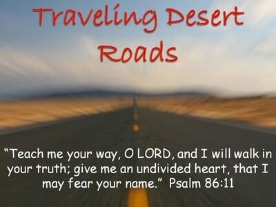Traveling Desert Roads