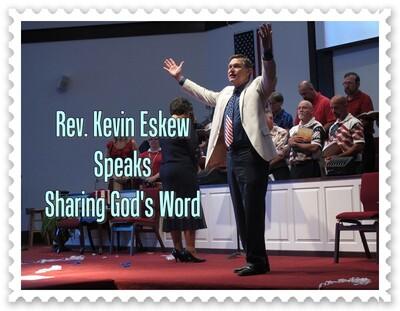 Rev. Kevin Eskew Speaks