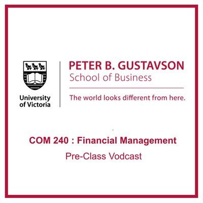 COM 240 : Financial Management