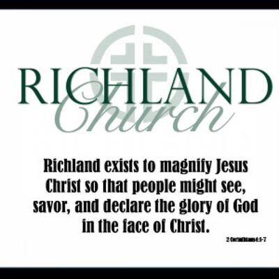Richland Church Sermon Audio