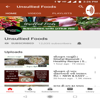 Unsullied Foods Gujarati