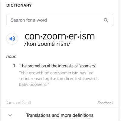 Conzoomerism