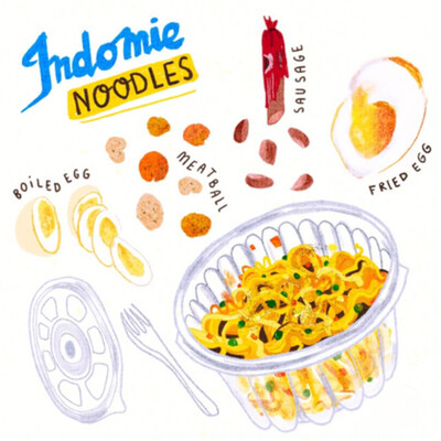 Indomie For 3