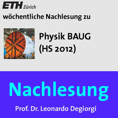 Nachlesung Physik BAUG (HS12) - M4A