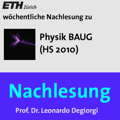Nachlesung Physik BAUG - M4A