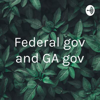 Federal gov and GA gov