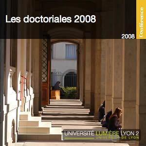 Journée d'études de l'Ecole Doctorale EPIC (Doctoriales 2008)