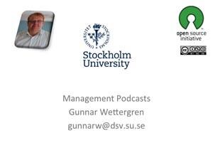 Management podcasts