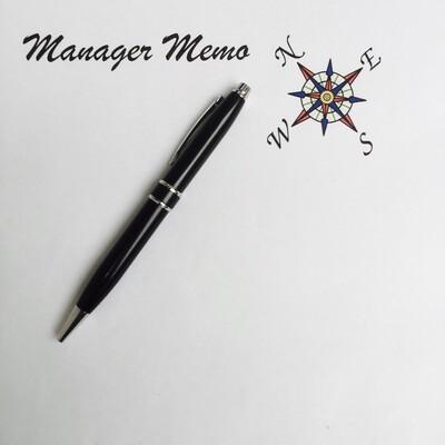 Manager Memo podcast