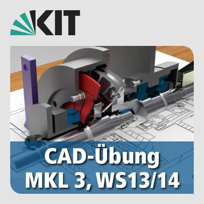 CAD Übungen in der Maschinenkonstruktionslehre, WS13/14