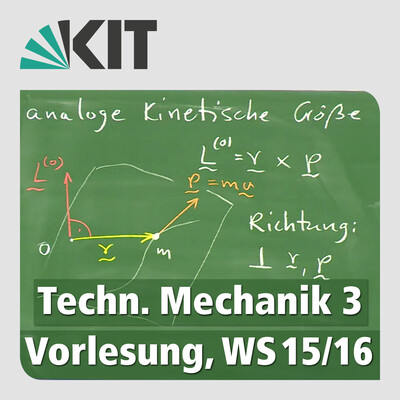Technische Mechanik 3, Vorlesung, WS15/16