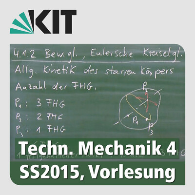 Technische Mechanik 4, SS2015, Vorlesung