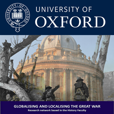 Globalising and Localising the Great War seminar series, 2016-2017