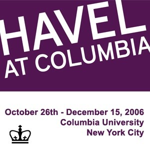 Havel at Columbia [staging site]: Events (Audio)