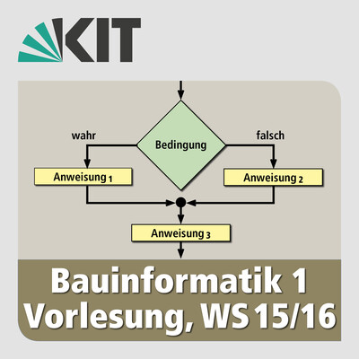 Bauinformatik 1, Vorlesung, WS15/16