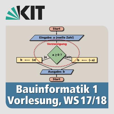 Bauinformatik 1, Vorlesung, WS17/18