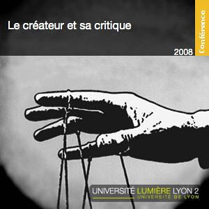 Le créateur et sa critique