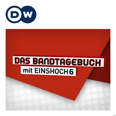 Das Bandtagebuch mit EINSHOCH6   Deutsch lernen mit Musik