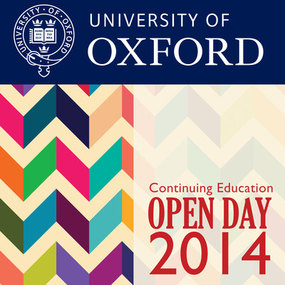 Department for Continuing Education Open Day 2014