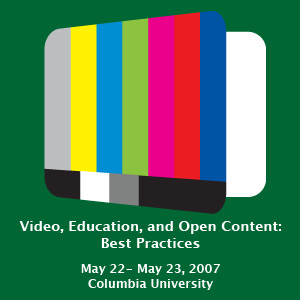Video, Education, and Open Content (Audio)