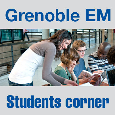 Grenoble Graduate School of Business, Student Corner - Audio & Document collection