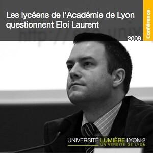 Les lycéens de l'Académie de Lyon questionnent Eloi Laurent
