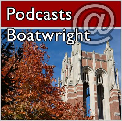 Podcasts @ Boatwright