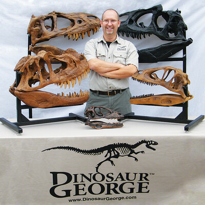 Dinosaur George Podcast - A Podcast Devoted to Paleontology and Natural Science