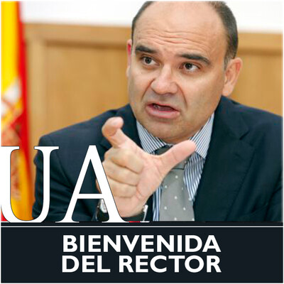 Mensaje de bienvenida del Rector de la Universidad de Alicante