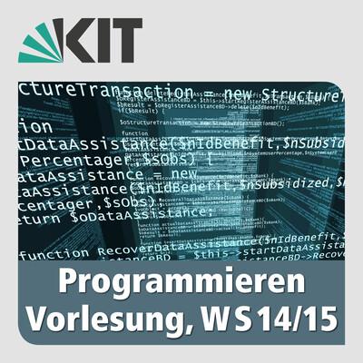 Programmieren, Vorlesung, WS2014/15
