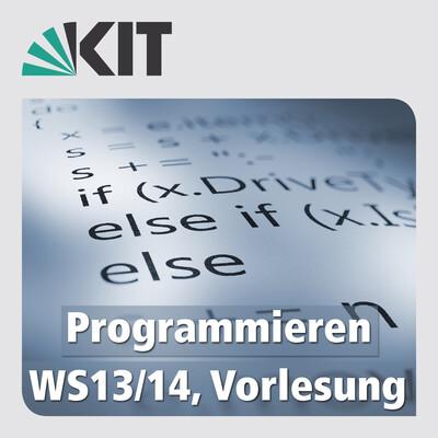 Programmieren, WS13/14, Vorlesung