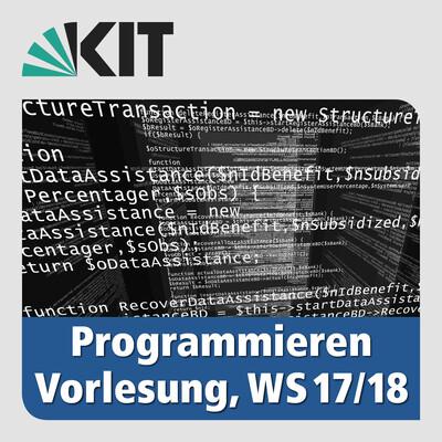 Programmieren, WS17/18, Vorlesung